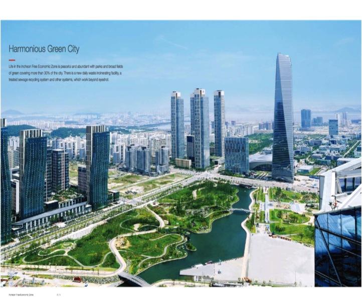 Figure 2: Songdo Marketing Pamphlet 2012