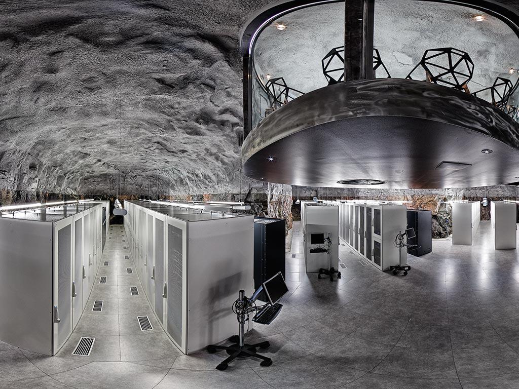 Figure 7: Pionen Datacenter, Stockholm Sweden